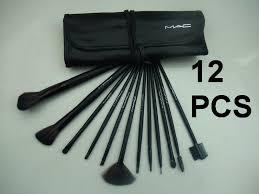 newest makeup mac brush set 12pcs