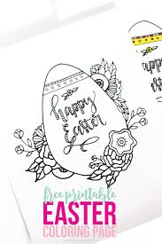 No prep necessary, just print the easter egg color by number coloring page and start coloring. Easter Coloring Pages Free Printable Kids Love