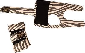 Tiger Paw Zebra Wrist Supports