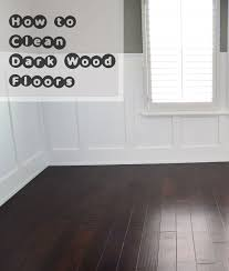 Dark wood floors Oak How To Clean Dark Wood Floors Impressive Interior Design How To Clean Dark Wood Floors
