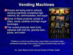 Vending Machines Lubbock Custom Child ObesityDecreasing The Problem In The Lubbock Independent Scho