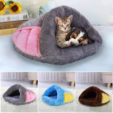 Cat Nest Pet Puppy <b>Cat House</b> Winter Warm Dog Cats <b>Cushion</b> Mat ...