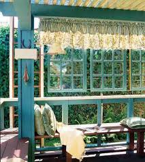 outdoor home decor ideas recycling wood doors and windows