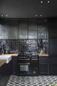 Best Black Tiles Ideas Bathroom Worktop Sparkle Kitchen Floor Glasgow: Full  Size ...