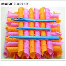 18PCS/Set DIY Magic Hair Curlers Rollers 55cm length 2.5 ... - Vova