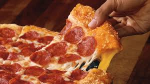 pizza hut stuffed crust cheese pizza. Pizza Hut Debuts New Grilled Cheese Stuffed Crust Throughout
