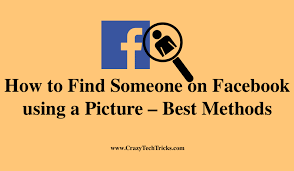 how to find someone on facebook using a