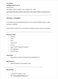 Resume Accountant Sample Accounting Example Smart Accounting Example ...