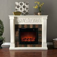 large image for home depot electric fireplaces mantle interior potted plant wicker basket dark flooring fireplace