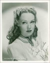 Rita Johnson - Autographed Inscribed Photograph Circa 1940   HistoryForSale  Item 289992