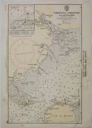 Yachtsman Chart Book Details About Yarmouth Lymington And Keyhaven Admiralty Chart 5605 For Yachtsmen