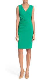 Layne Ruched Knit Sheath Dress