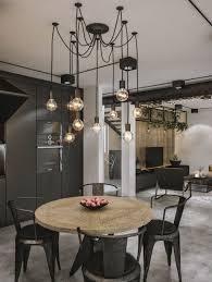 industrial loft lighting. Dream Houses: Modern Industrial Loft In Kaunas Lithuania Lighting L