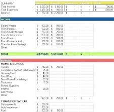 Excel Expenses Spreadsheet Household Expense Spreadsheet Template