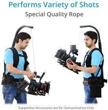 Buy FLYCAM Flowline 400N Professional Stabilizing Body Support for 3-Axis  Camera Gimbals (8-10Kg / 17-22lb) | Stabilizer Vest for Video Film Camera  Camcorder| for Camera(FLCM-FLN-400N) Online in Vietnam. B00M6O8Z1O