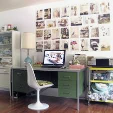home office wall. 30 Modern Home Office Decor Ideas In Vintage Style Wall E