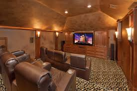 Cascade Canyon Mediterranean Home Theater Houston By Gary Interesting Home Theater Design Houston