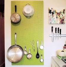 kitchen knife holder pots storage pegboard wall organizer and magnetic knife holder dream kitchen
