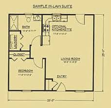 Floor Plan For Mother Inlaw Suite  Houses  Pinterest  Tiny Mother In Law Suite Addition Floor Plans