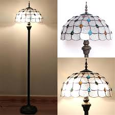 stained glass floor lamp art glass floor lamp style stained glass baroque sunflower stand living room stained glass floor lamp