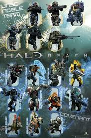 Halo Reach Character Chart Halo Halo Reach Characters