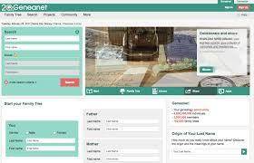 Geneanet A New Family History Website Based In France Offers Free