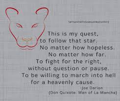 Don Quixote Quote Tumblr Extraordinary Don Quixote Quotes
