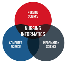 Infographic Venn Diagram Nursing Informatics Mini Infographic