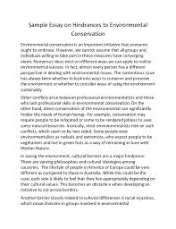 essay on environment conservation environmental conservation essays research papers