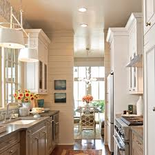Small Narrow Kitchen Beautiful Efficient Small Kitchens Traditional Home
