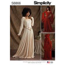 Charming Simplicity Sewing Pattern S8866 Missesu0027/Miss Petite Knit Costumes