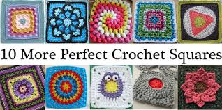 Crochet Squares Free Patterns