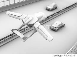 自動運転 自動 運転 コックピットのイラスト素材 Pixta