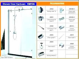 shower door king king glass shower door bathroom shower door parts bathroom shower door replacement sliding
