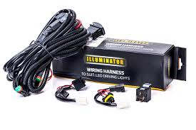 led driving light wiring harness to fit and lights