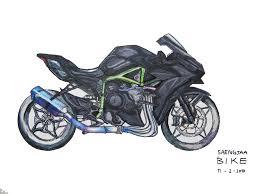 kawasaki H2 benz racing – saengjaabike