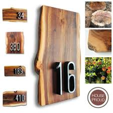 applewood number signs by house proud