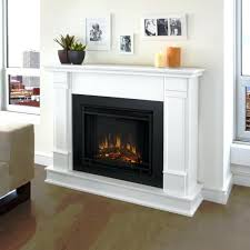 white electric fireplace stand heer antique corner modern real flame fresno finish fini propane insert vent