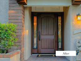 architecture single front entry doors modern rustic after installation fiberglass exterior pertaining to 0 from