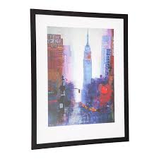 cafe lighting and living. wall art cafe lighting u0026 living manhattan empire state 51237 and