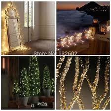 8 colors 12m 240leds outdoor led string lights warm white silver wire starry fairy