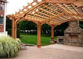 large outdoor living pergola 2b