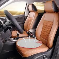 passive adjule silicone car seat cushion electric air circulation ventilation seat pad red anti hemorrhoids
