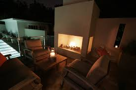 gallery outdoor living wall featuring: stupefying contemporary  surprising gas fire place for outdoor space design showcasing cube concrete structure with rock insert incorporate pleasing outdoor living furniture ideas gas ventless fireplace interior the best contjpg