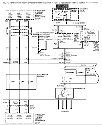 honda distributor wiring diagram honda engine wiring diagram 1997 honda civic wiring diagram at 97 Honda Civic Stereo Wiring Diagram