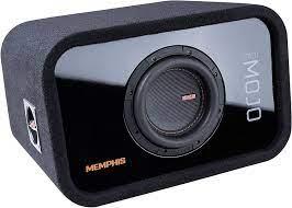 Buy Memphis Audio MJME6S1 6-1/2 Ported Loaded Subwoofer Enclosure Online in  Turkey. B07ZBDFVL9