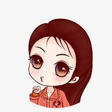 Cute Cartoon Girl Lovely Girl Cartoon And Vector For Free