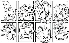 Printable Shopkins Coloring Pages Season 7 Colouring Free Shoppies