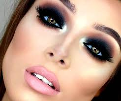 cool makeup ideas black shadow