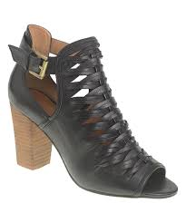 love this product black tatiana leather p toe bootie women